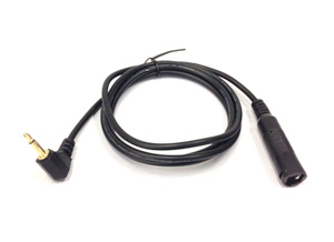 Surgical headlight cable | Black Extension | Enova Illumination